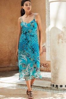 Next Printed Dress - Tall