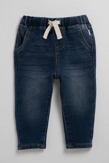 Pumpkin Patch Jean Pull On Stretch with Tie Waist