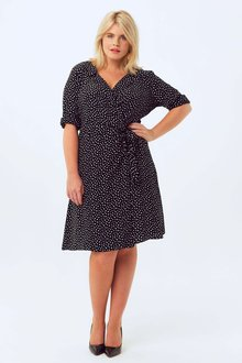 Next Spot Wrap Dress