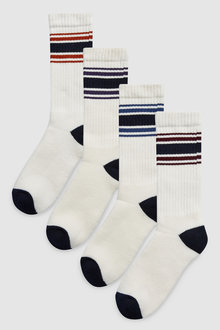 Next Tipped Sports Socks Four Pack