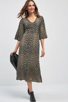 Next Print Midi Dress - 222316