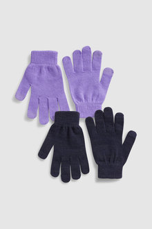 Next Touchscreen Gloves Two Pack