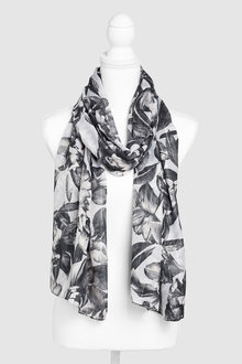 Next Floral Print Scarf