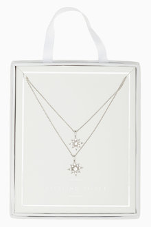 Next Two Layer Star Necklace