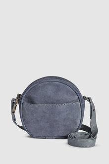 Next Leather Mini Circle Bag
