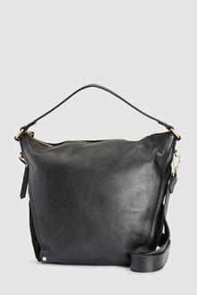 Next Leather Bucket Bag