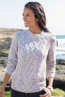 Capture European Textured Knit Jumper