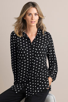 Capture Button Up Blouse
