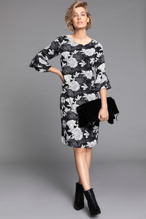 Capture Ruffle Dress