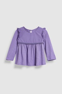 Next Long Sleeve Dobby Blouse (3mths-6yrs)