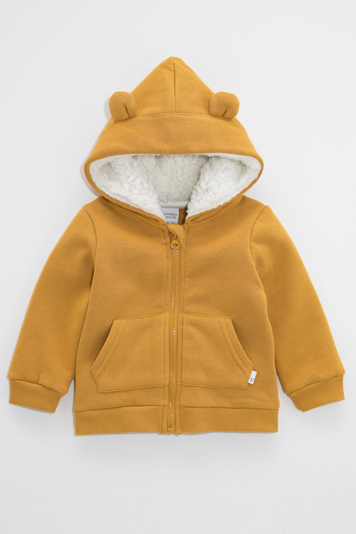 Pumpkin Patch Fleece Hoodie with Ears