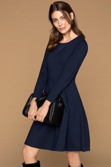 Capture Ponte Fit and Flare Dress