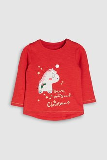 Next Christmas T-Shirt (3mths-6yrs)