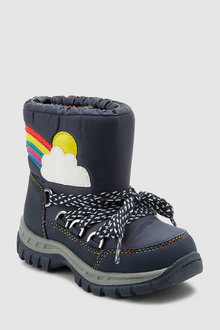 Next Rainbow Snow Boots (Younger)