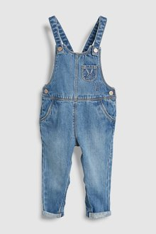 Next Embroidered Dungarees (3mths-7yrs)