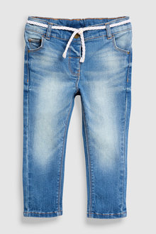 Next Belted Jeans (3mths-7yrs)