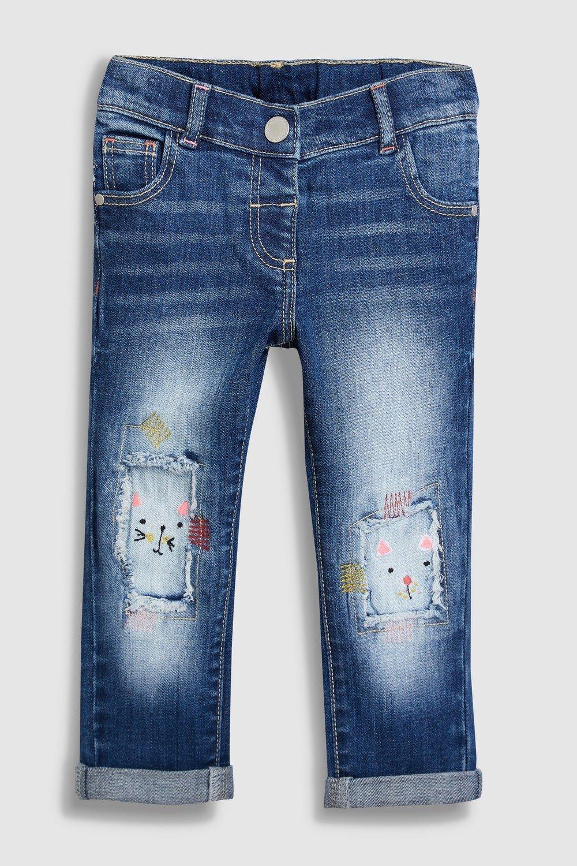 Next Cat Distressed Jeans (3mths-6yrs) Online | Shop EziBuy