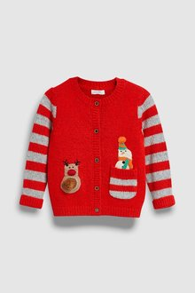 Next Christmas Cardigan (3mths-7yrs)