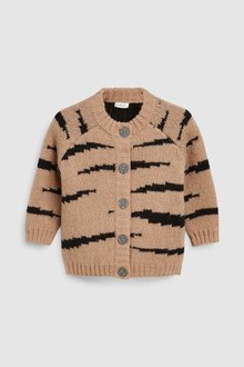Next Tiger Cardigan (3mths-7yrs)