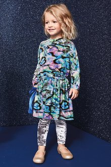 Next Marble Dress (3mths-7yrs)