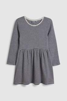 Next Stripe Brushed Dress (3mths-7yrs)