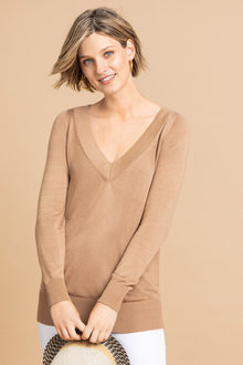Emerge V Neck Sweater