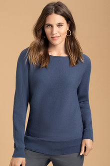 Emerge Ribbed Batwing Sweater