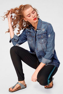 Urban Oversize Denim Jacket - 222579