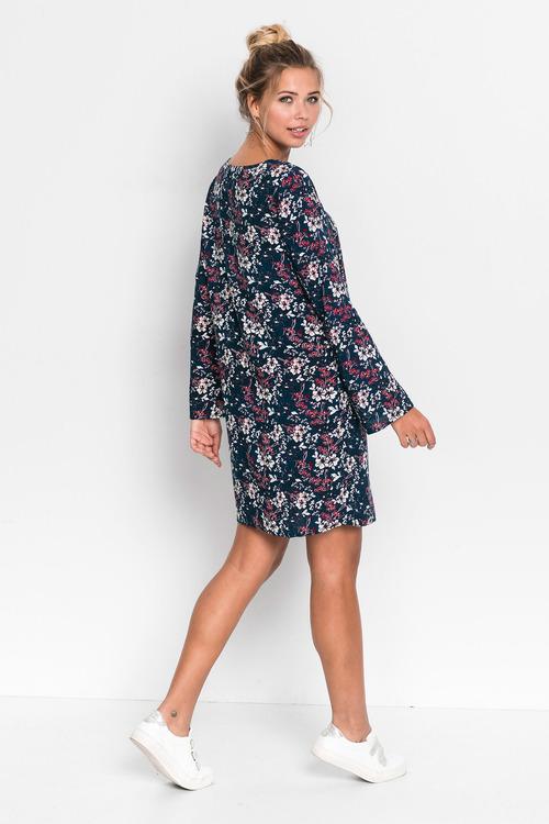 Urban Floral Tunic Dress