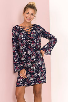 Urban Floral Tunic Dress - 222580