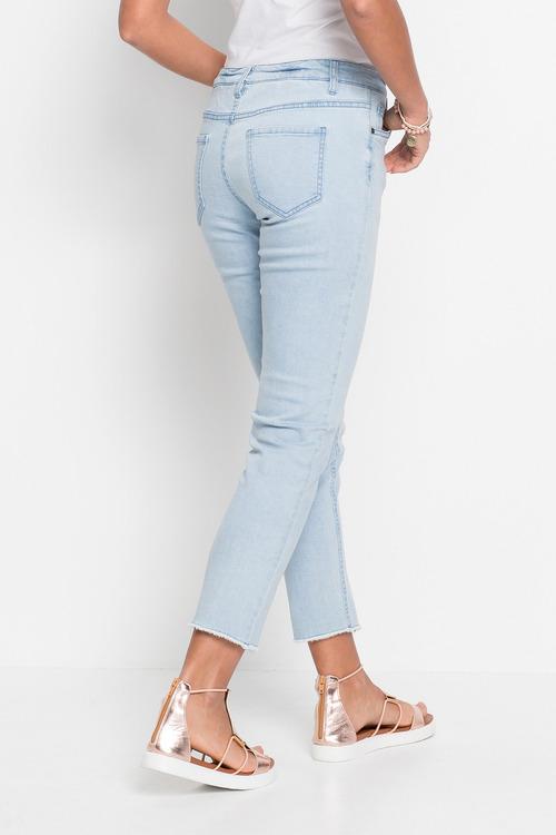 Urban Split Hem Detail Jeans