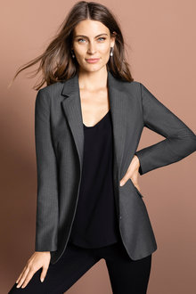 Capture Longline Tweed Blazer