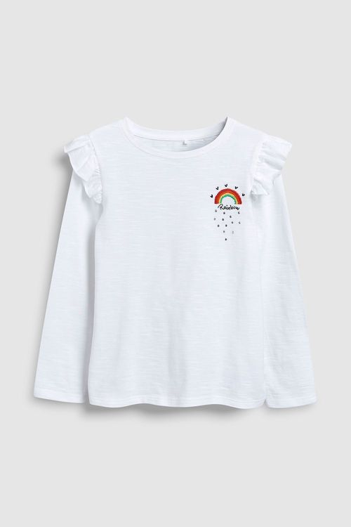 Next Rainbow Long Sleeve Top (3-16yrs)