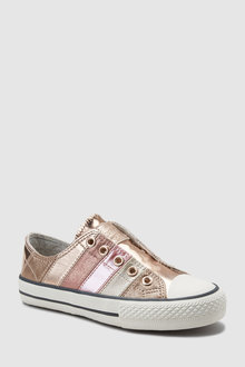 Next Stripe Laceless Trainers (Older)