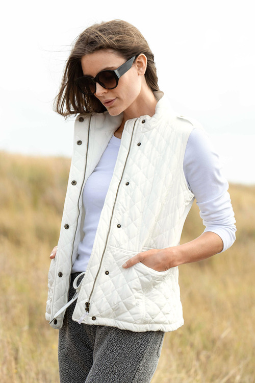 Capture Quilted Puffer Vest