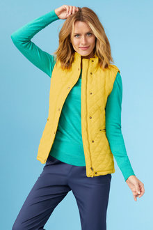 Capture Quilted Puffer Vest - 222720