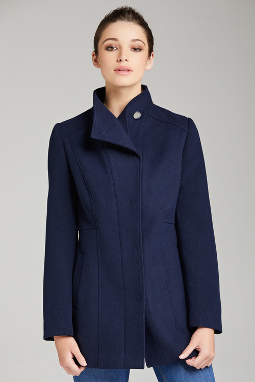 Capture Panelled Longline Coat