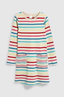 Next Brushed Stripe Dress (3-16yrs)