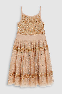 Next Sequin Dress (3-16yrs)