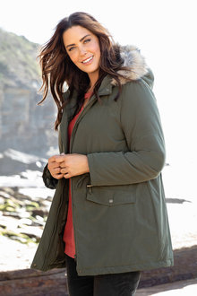 Plus Size - Sara Hooded Parka