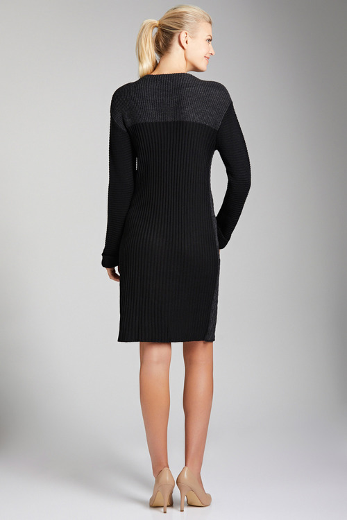Capture Panelled Cable Dress