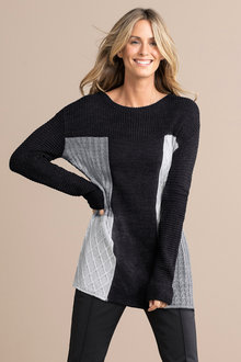 Capture Chunky Cable Sweater