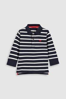 Next Long Sleeve Polo (3mths-6yrs)