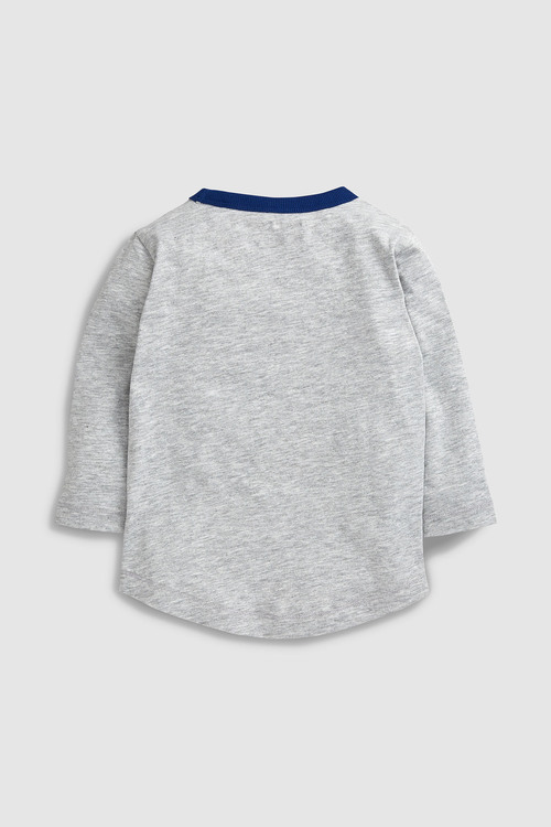 Next Rainbow Star Long Sleeve T-Shirts Three Pack (3mths-6yrs)