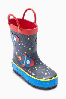Next Rocket Space Wellies (Younger)