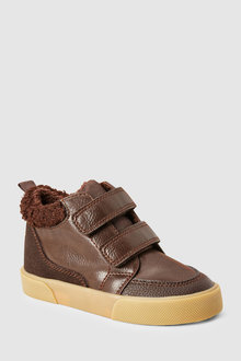 Next Double Strap Warm Lined Boots (Younger)