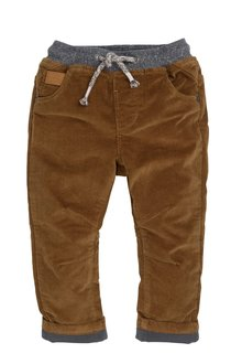 Next Pull-On Jersey Lined Cord Trousers (3mths-6yrs)