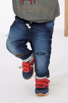 Next Jeans With Car Applique (3mths-6yrs)
