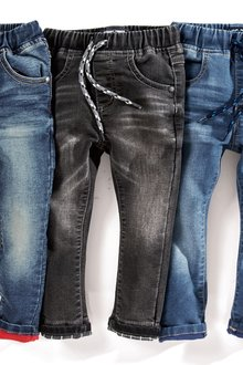 Next Jersey Denim Pull-On Jeans (3mths-6yrs)