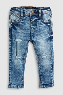 Next Distressed Five Pocket Jeans (3mths-6yrs)